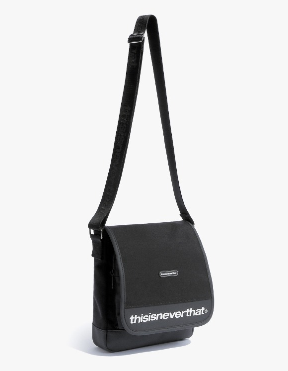 thisisneverthat CORDURA® 750D Nylon Shoulder Bag - Black | HEIGHTS. | 하이츠 온라인 스토어