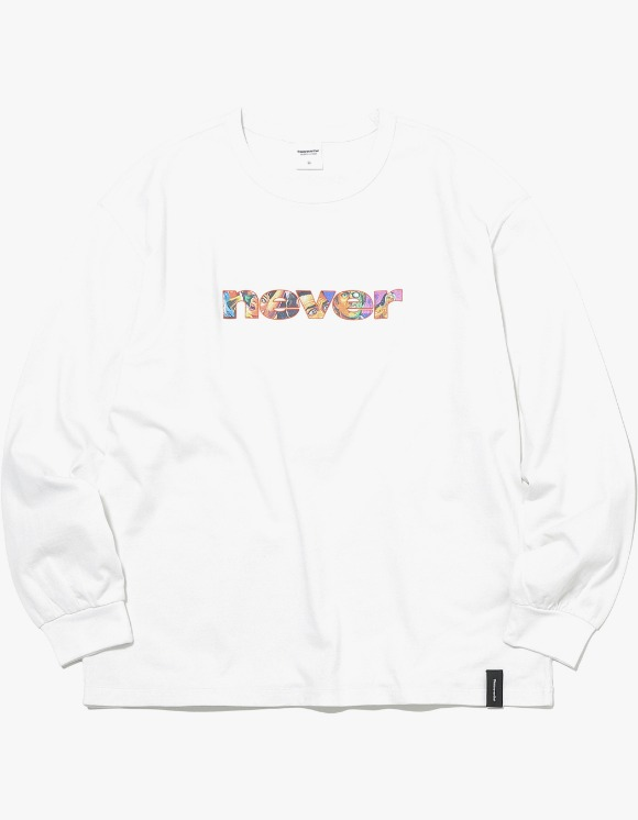 thisisneverthat NEVER L/SL Top - White | HEIGHTS. | 하이츠 온라인 스토어