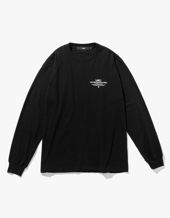 LMC LMC INFLUENCER LONG SLV TEE black | HEIGHTS. | 하이츠 온라인 스토어