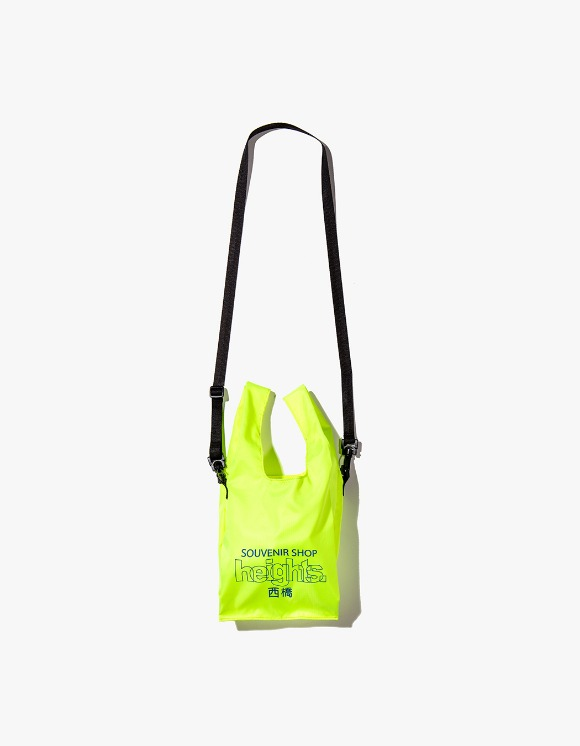 HEIGHTS. Heights. Logo Shoulder Bag - Safety Green | HEIGHTS. | 하이츠 온라인 스토어