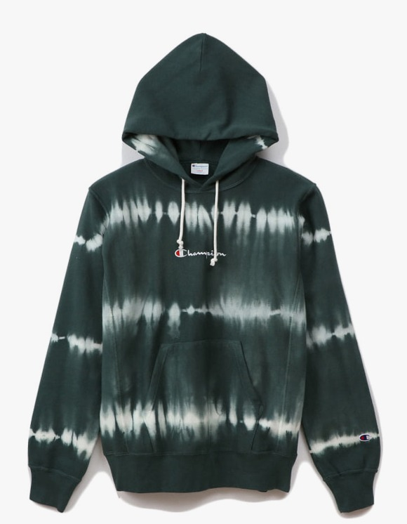 Champion REVERSE WEAVE® 10oz Tie Dye Pullover - Green | HEIGHTS. | 하이츠 온라인 스토어