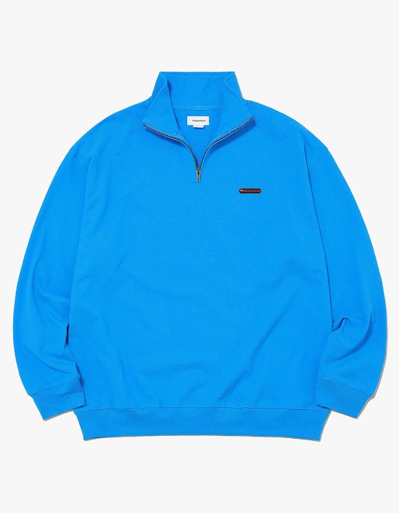 thisisneverthat Rubber SP Half ZIP Pullover - Light Blue | HEIGHTS. | 하이츠 온라인 스토어