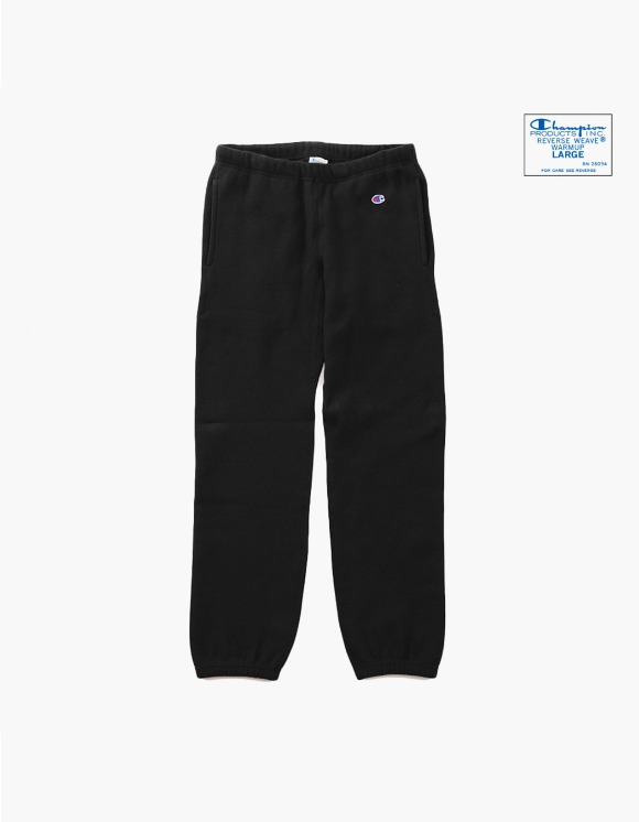 Champion Reverse Weave® Blue Tag Sweat Pant - Black | HEIGHTS. | 하이츠 온라인 스토어