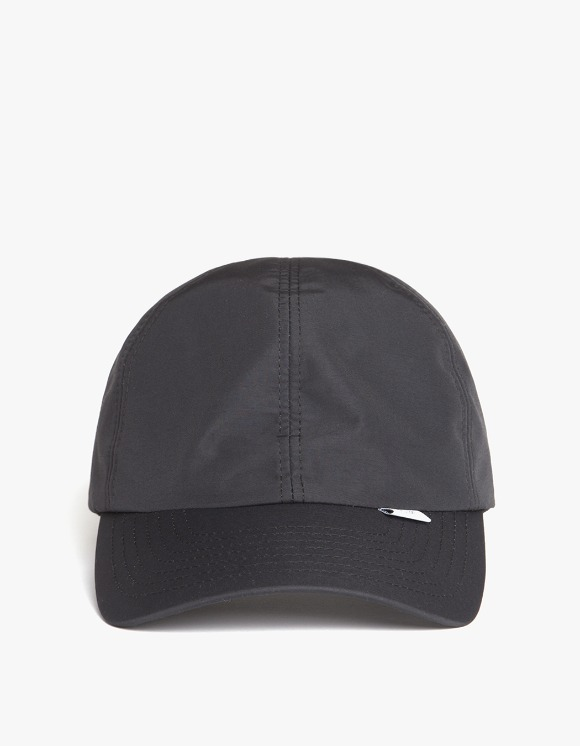 IZOLA NYC 3 Layer 6-Panel Cap - Black | HEIGHTS. | 하이츠 온라인 스토어