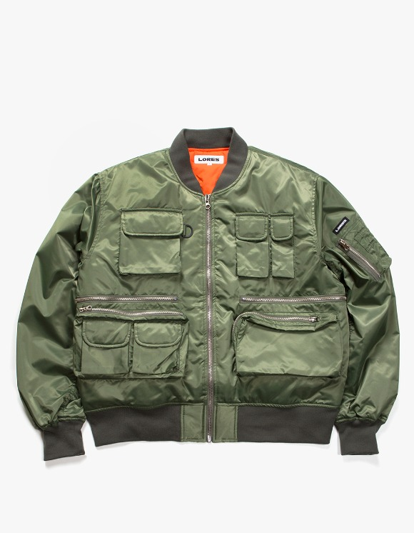 Lores Utility MA-1 Jacket - Olive Green | HEIGHTS. | 하이츠 온라인 스토어