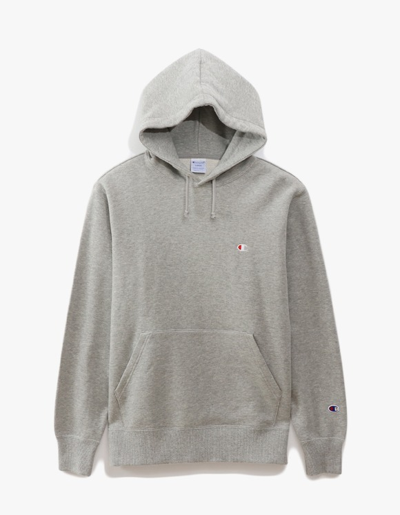 Champion Basic Pullover Hoodie - Heather Grey | HEIGHTS. | 하이츠 온라인 스토어
