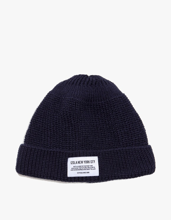 IZOLA NYC NYC Beanie - Black | HEIGHTS. | 하이츠 온라인 스토어