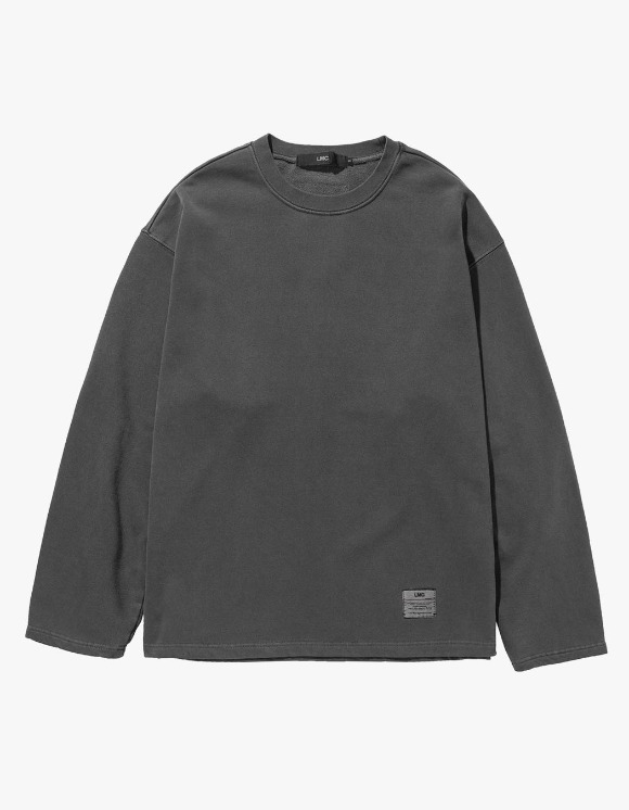 LMC LMC LABEL OVERSIZED SWEATSHIRT dk gray | HEIGHTS. | 하이츠 온라인 스토어