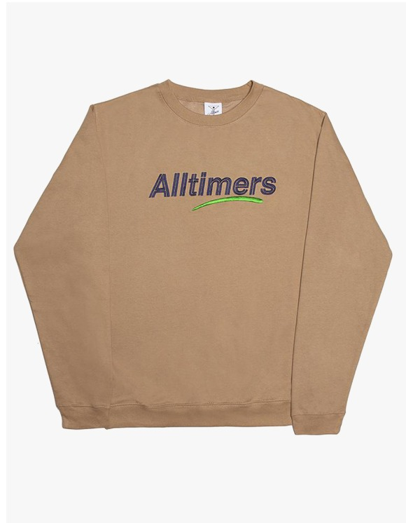 Alltimers Estate Crewneck - Sand | HEIGHTS. | 하이츠 온라인 스토어