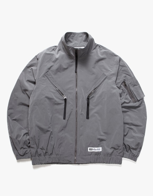 Lores Utility Jacket - Grey | HEIGHTS. | 하이츠 온라인 스토어