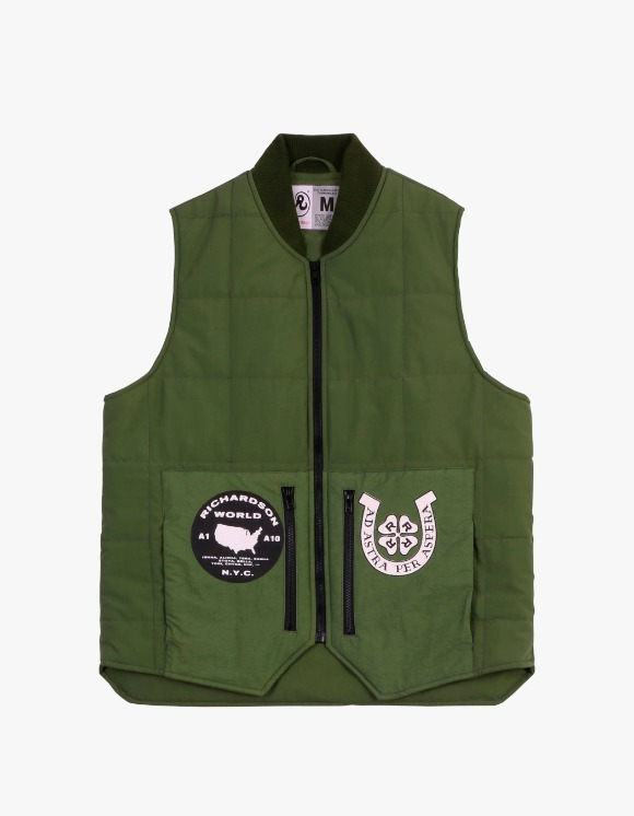 Richardson Embellished Quilted Vest | HEIGHTS. | 하이츠 온라인 스토어