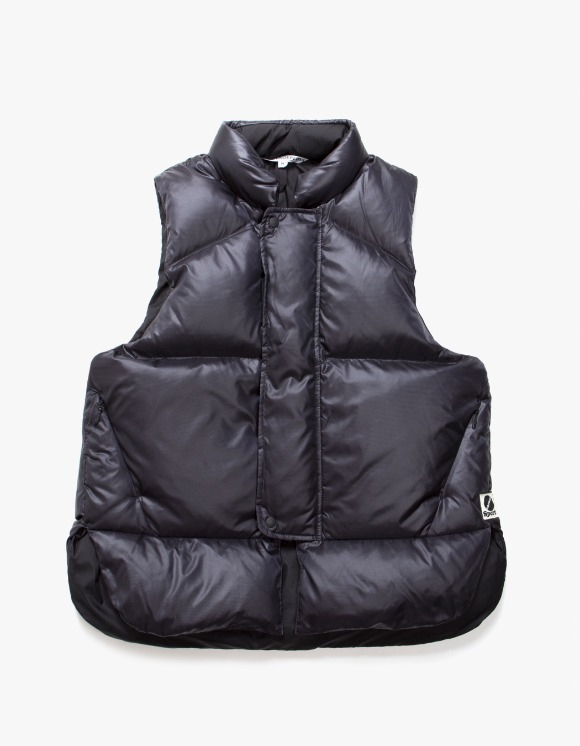Heritage Floss Goose Down Life Vest - Black | HEIGHTS. | 하이츠 온라인 스토어