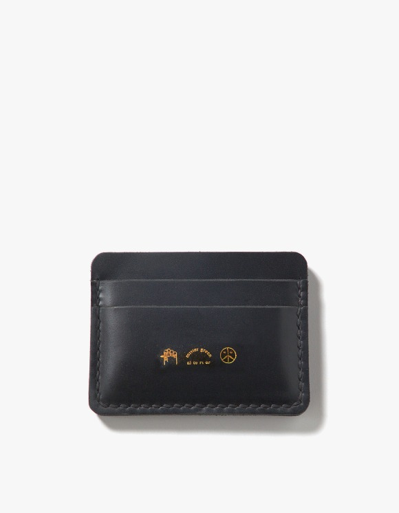 Mister Green Alterior Design For Mister Green Leather Card Case - Black | HEIGHTS. | 하이츠 온라인 스토어