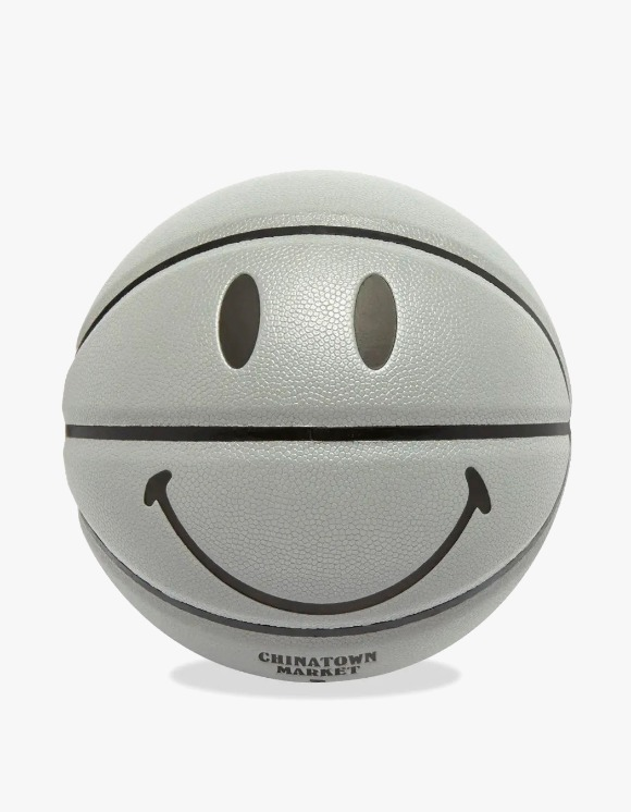 Chinatown Market Smiley 3M Basket Ball - Silver | HEIGHTS. | 하이츠 온라인 스토어