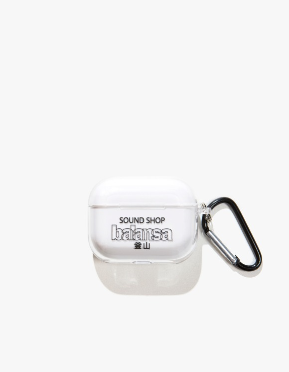 Balansa Balansa AirPods Pro Case - Clear/Black | HEIGHTS. | 하이츠 온라인 스토어