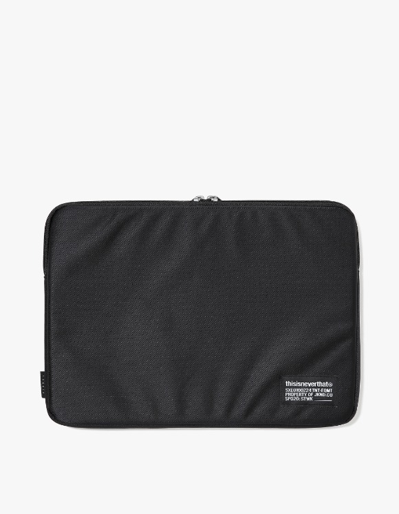 "thisisneverthat CORDURA® Satin 13"" Laptop Sleeve - Black 