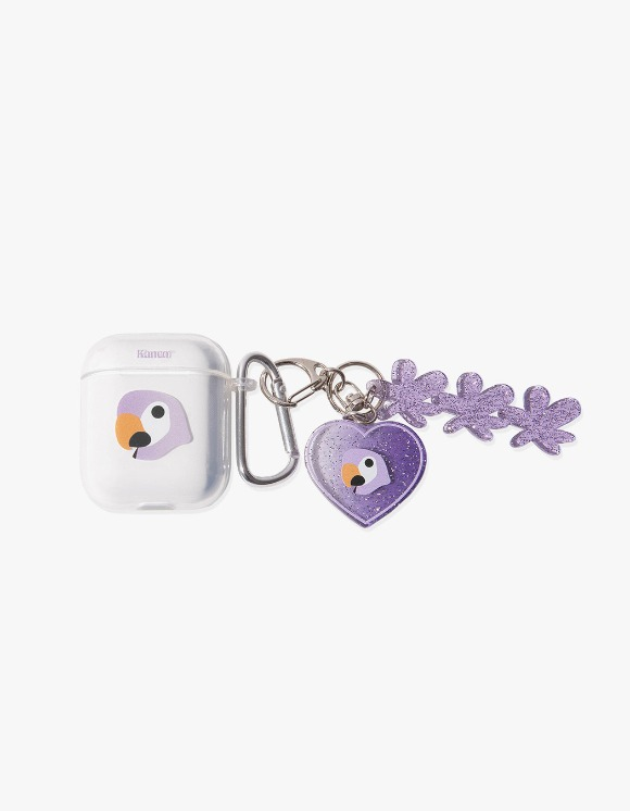 KANCO KANCO SYMBOL AIRPODS JELLY CASE with KEY RING clear | HEIGHTS. | 하이츠 온라인 스토어