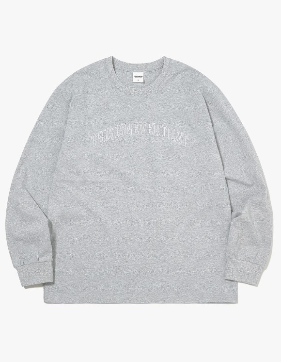 thisisneverthat ARC-Logo L/SL Top - Grey | HEIGHTS. | 하이츠 온라인 스토어