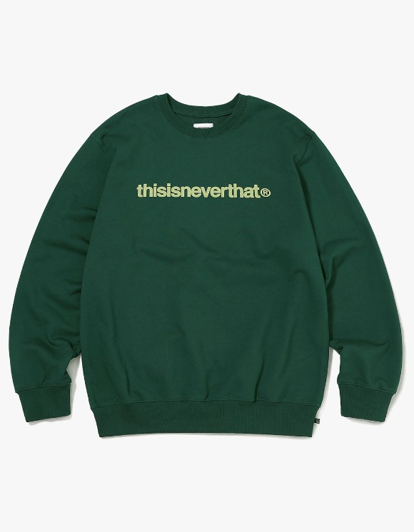 thisisneverthat T-Logo Crewneck - Forest | HEIGHTS. | 하이츠 온라인 스토어