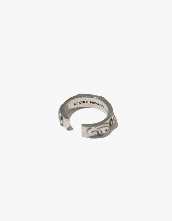 Kruchi lab Paisley Tension Ring - Silver | HEIGHTS. | 하이츠 온라인 스토어