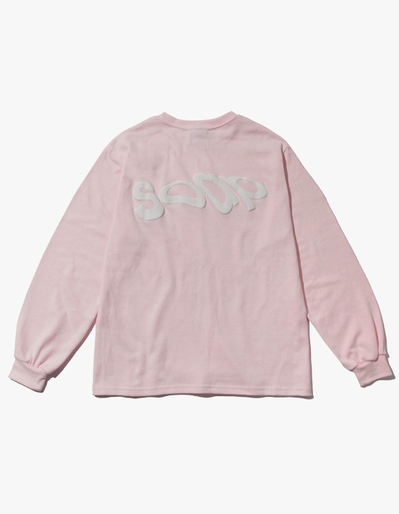 Soap Soap Wavy Long Sleeve - Baby Pink | HEIGHTS. | 하이츠 온라인 스토어
