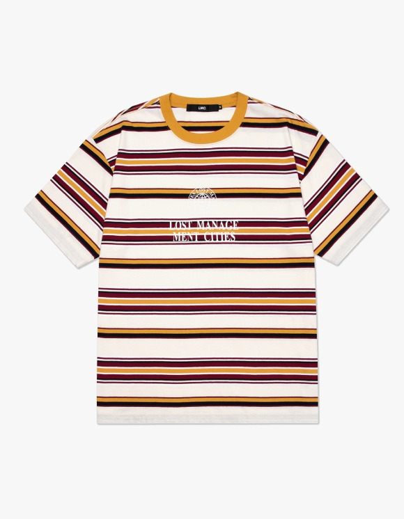 LMC LMC MULTI STRIPE TEE cream | HEIGHTS. | 하이츠 온라인 스토어