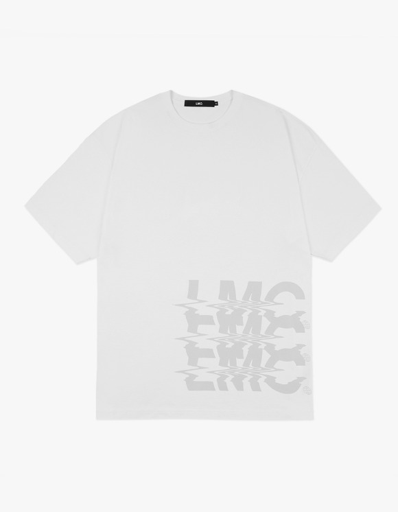 LMC LMC NOISE OVERSIZED TEE white | HEIGHTS. | 하이츠 온라인 스토어