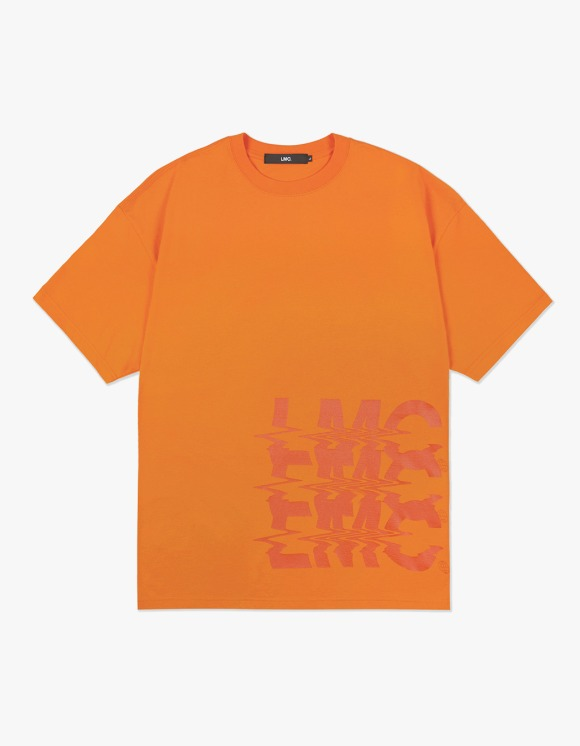 LMC LMC NOISE OVERSIZED TEE orange | HEIGHTS. | 하이츠 온라인 스토어