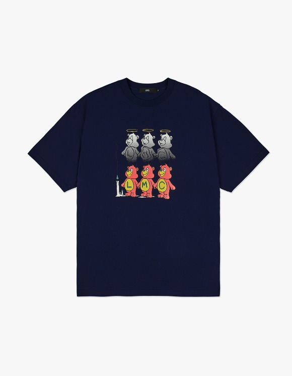 LMC LMC THREE BEARS TEE navy | HEIGHTS. | 하이츠 온라인 스토어