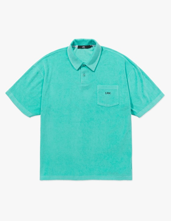 LMC LMC OLDE OG TERRY POLO SHIRT mint | HEIGHTS. | 하이츠 온라인 스토어