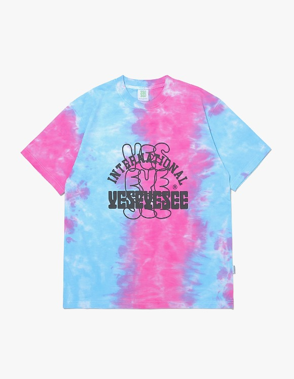yeseyesee Dyed Tee - Blue/Red | HEIGHTS. | 하이츠 온라인 스토어