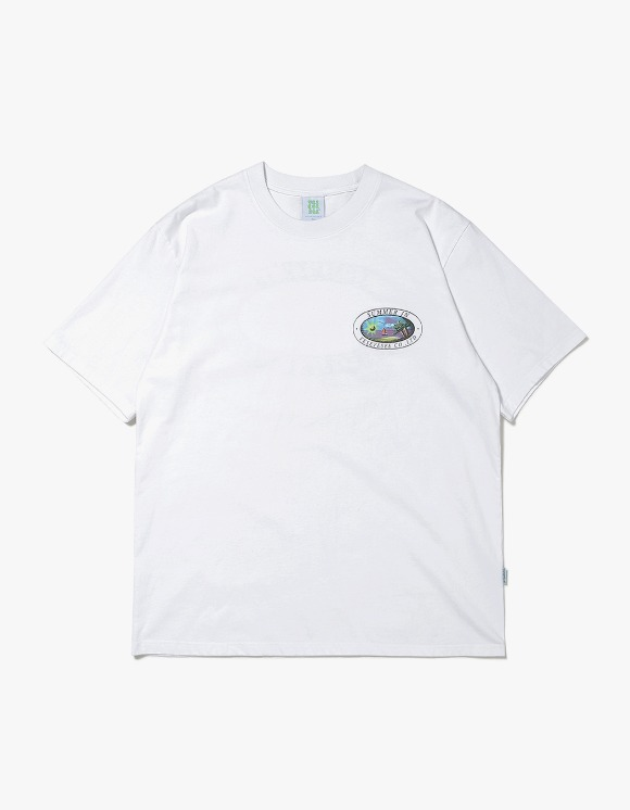 yeseyesee Y.E.S Summer Tee - White | HEIGHTS. | 하이츠 온라인 스토어