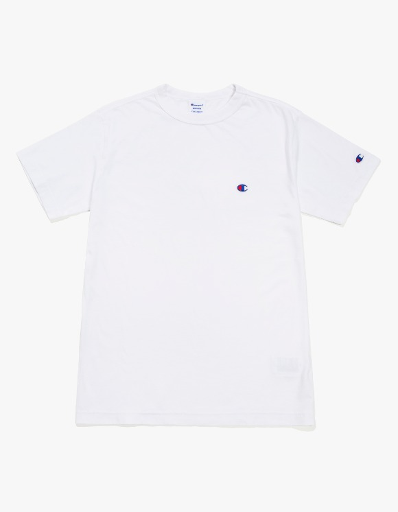 Champion Champion Basic S/S Tee - White | HEIGHTS. | 하이츠 온라인 스토어