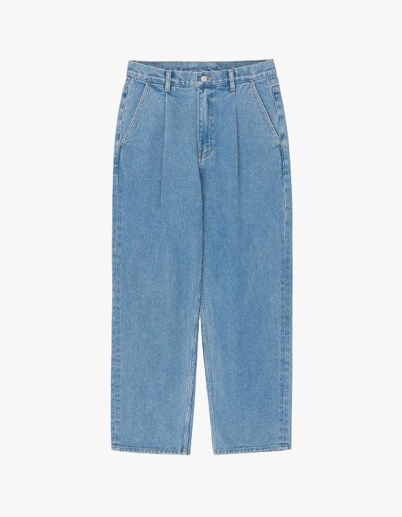 AYC 1 Tuck Wide Jeans - Light Blue | HEIGHTS. | 하이츠 온라인 스토어
