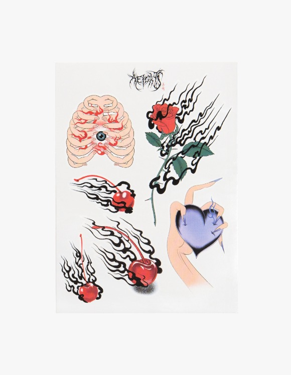 HEIGHTS. X MIKI MIKI Tattoo Sticker | HEIGHTS. | 하이츠 온라인 스토어