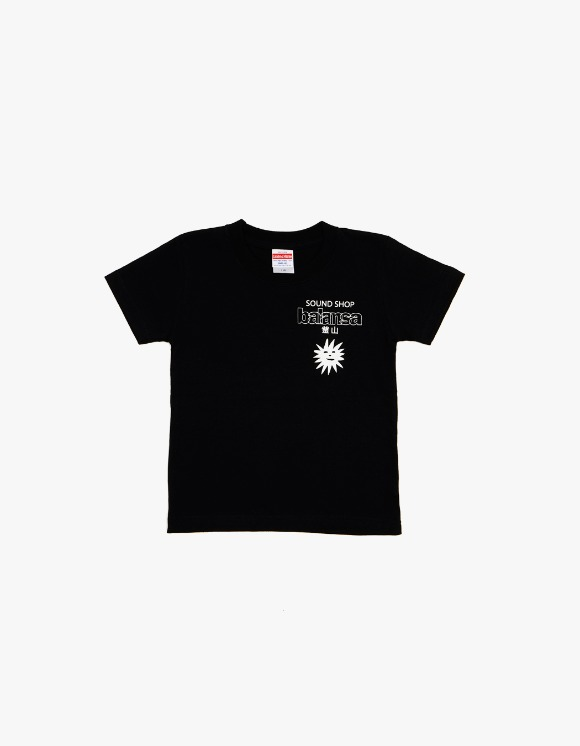 Balansa X More Love By Kentaro (Kids) Balansa X Kentaro S/S Tee - Black | HEIGHTS. | 하이츠 온라인 스토어