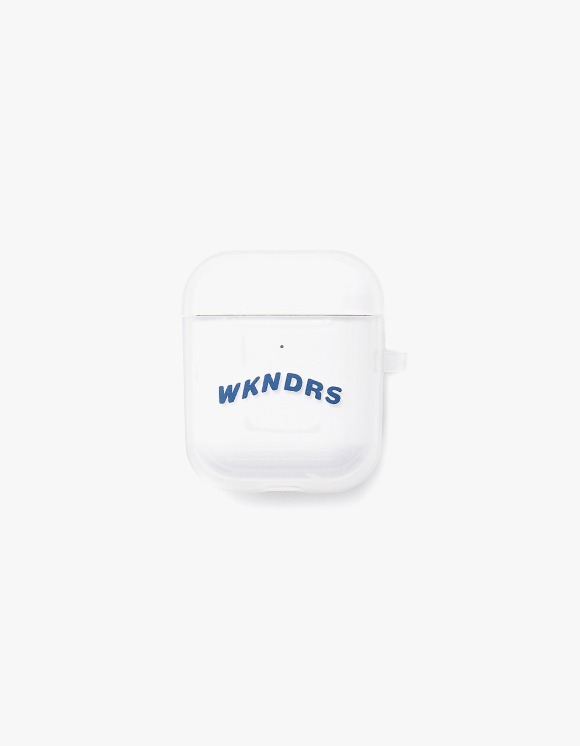 WKNDRS Wavy AirPod Case - Clear | HEIGHTS. | 하이츠 온라인 스토어