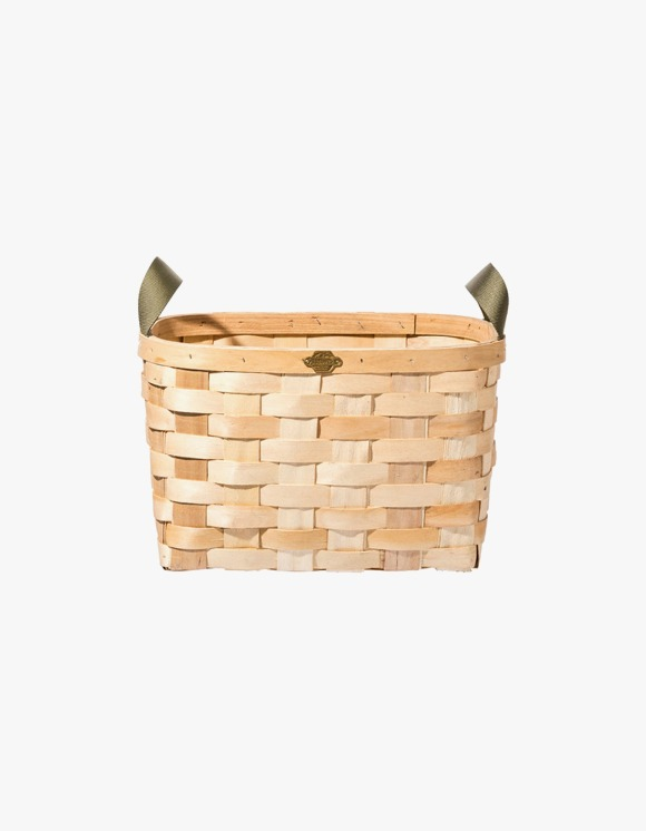 PUEBCO INC. Wooden Rectangle Basket - Natural | HEIGHTS. | 하이츠 온라인 스토어