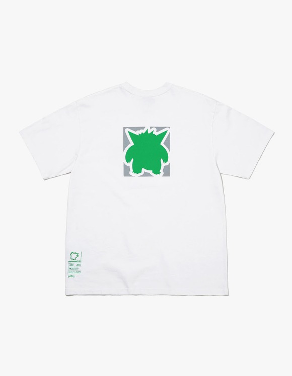 thisisneverthat PKM Reflective Tee - White/Green | HEIGHTS. | 하이츠 온라인 스토어