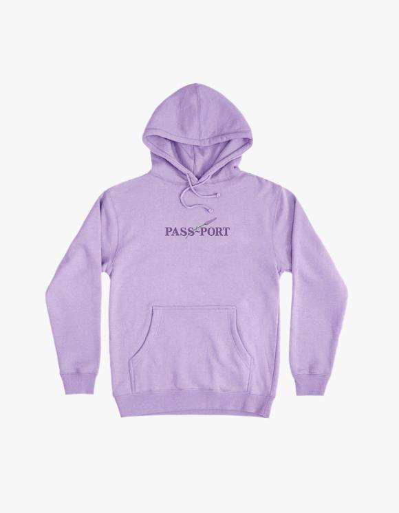 Pass Port Pass Port Lavender Hoodie - Lavender | HEIGHTS. | 하이츠 온라인 스토어