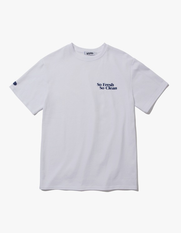 Soap So Fresh So Clean S/S Tee - White | HEIGHTS. | 하이츠 온라인 스토어