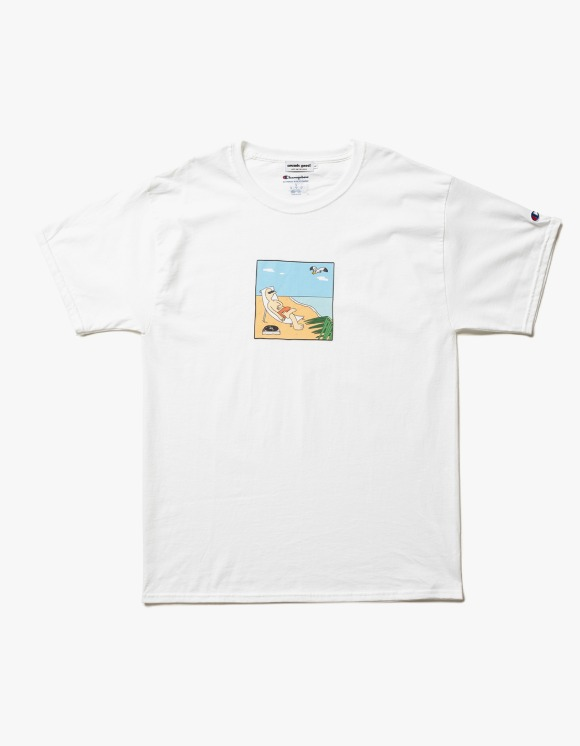 sounds good! Record Vacation Tee | HEIGHTS. | 하이츠 온라인 스토어