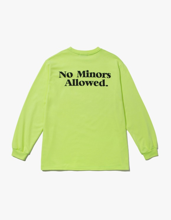 Soap Soap Logo Long Sleeve Tee – Neon | HEIGHTS. | 하이츠 온라인 스토어
