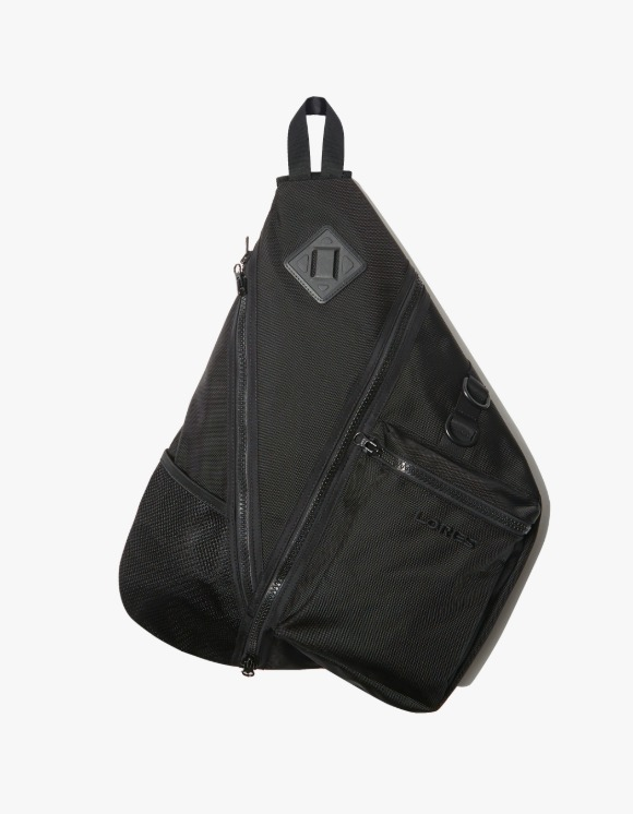 LORES Harness Body Tri-Bag - Black | HEIGHTS. | 하이츠 온라인 스토어