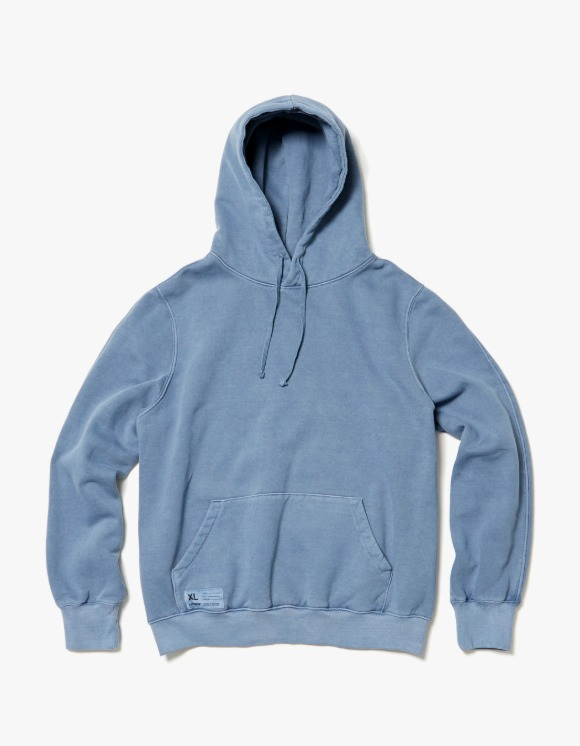 LORES Garment Dyed Pullover Hoodie - Pacific | HEIGHTS. | 하이츠 온라인 스토어