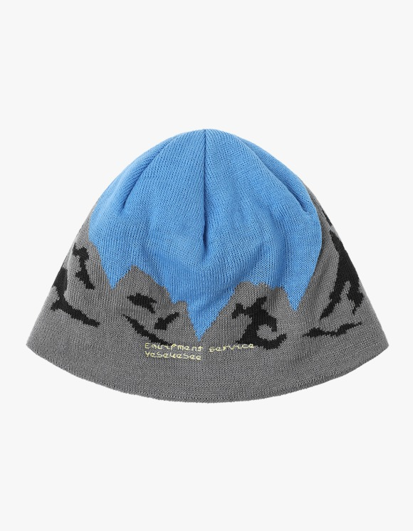 yeseyesee Y.E.S Mountain Beanie - Blue | HEIGHTS. | 하이츠 온라인 스토어