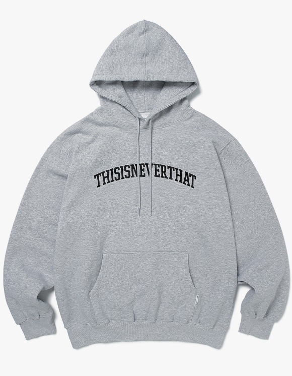 thisisneverthat ARC-Logo hooded Sweatshirt - Grey | HEIGHTS. | 하이츠 온라인 스토어