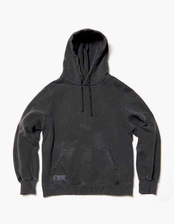 LORES Garment Dyed Pullover Hoodie - Charcoal | HEIGHTS. | 하이츠 온라인 스토어
