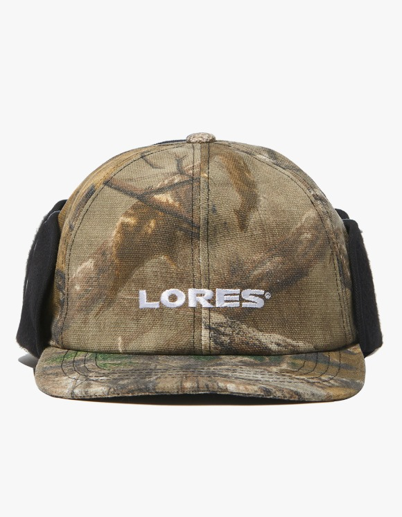 LORES Logo Earflap Mask Cap - Real Tree Camo | HEIGHTS. | 하이츠 온라인 스토어