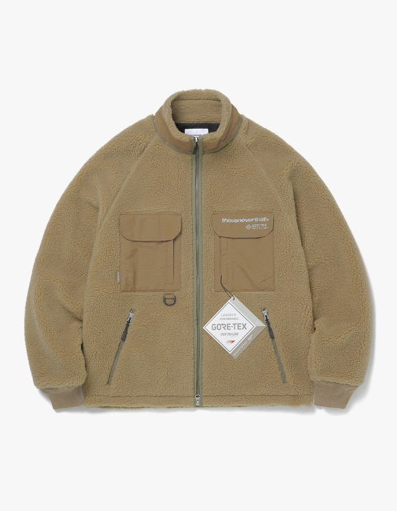 thisisneverthat GORE-TEX® INFINIUM™ BOA Jacket - Tan | HEIGHTS. | 하이츠 온라인 스토어